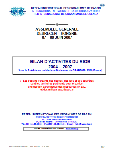 bilan 2004